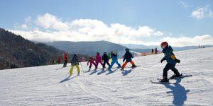 enfants ski